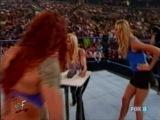 Trish Stratus(W/Lita) vs Torrie Wilson(W/Stacy Keibler)(WWF SmackDown 19.07.2001)